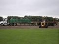 Truck being tarped